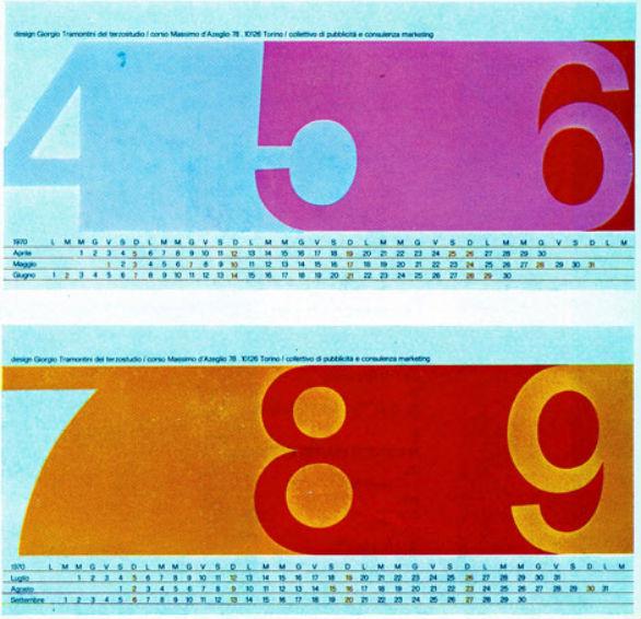 Colorful Calendar Samples - 1970 Self Promotional Calendar