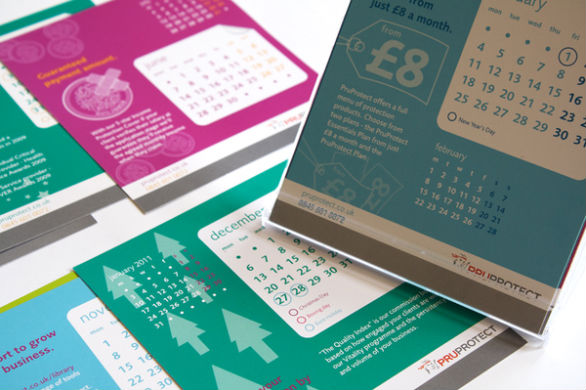 Colorful Calendar Samples - PruProtect Calendar