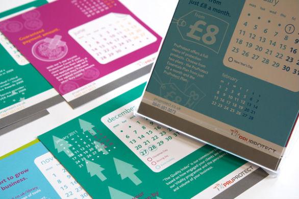 Colorful Calendar Samples - PruProtect Calendar