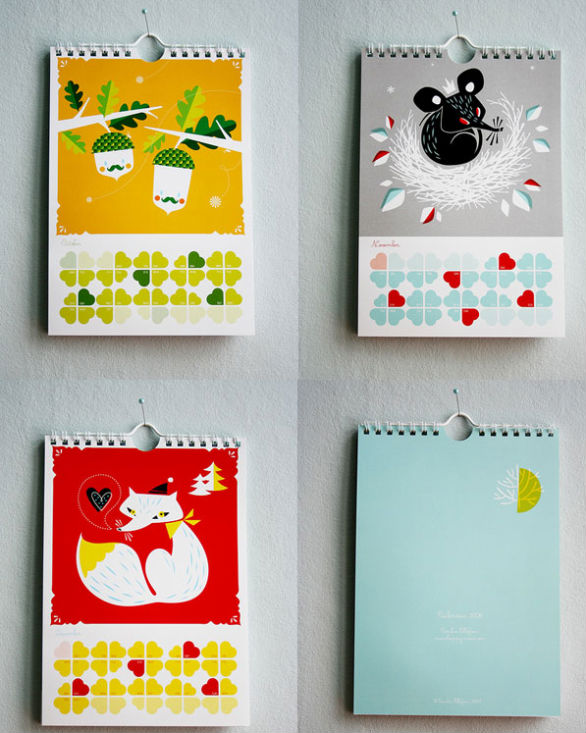 Colorful Calendar Samples - 2008 Calendar