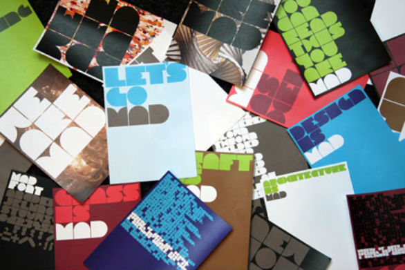 Creative Postcard Design - Mad