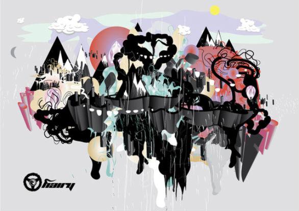 Creative Postcard Design - Party Postcard 1