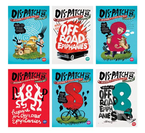 Creative Postcard Design - Dispatch Edition