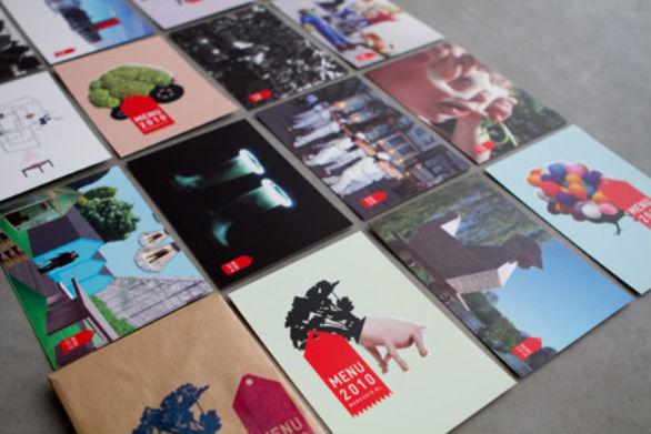 Creative Postcard Design - Menu 2010