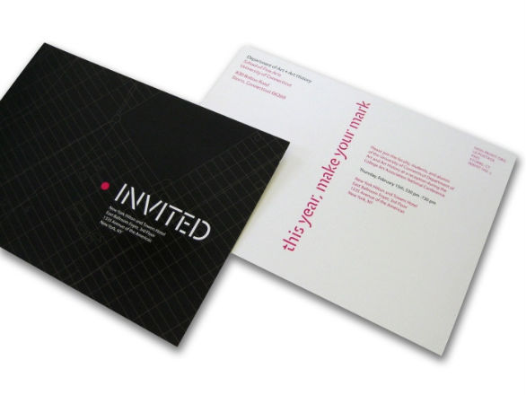 Creative Postcard Design - CAA Postcard