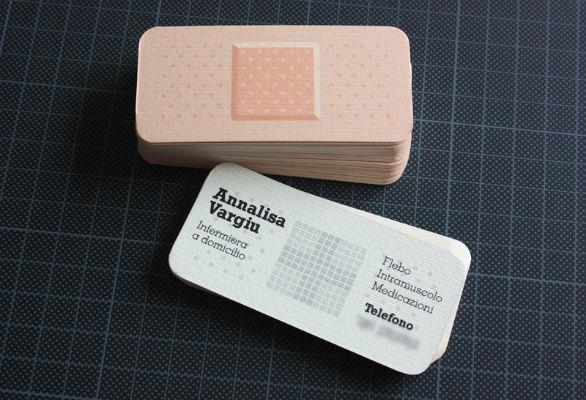 Custom Shaped Business Cards - Annalisa Vargiu