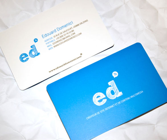 Custom Shaped Business Cards - ED