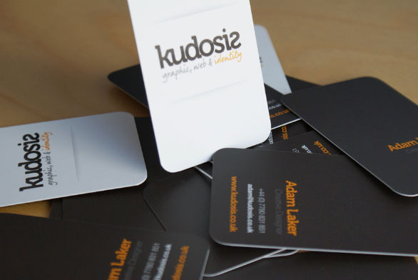 Custom Shaped Business Cards - Kudosis