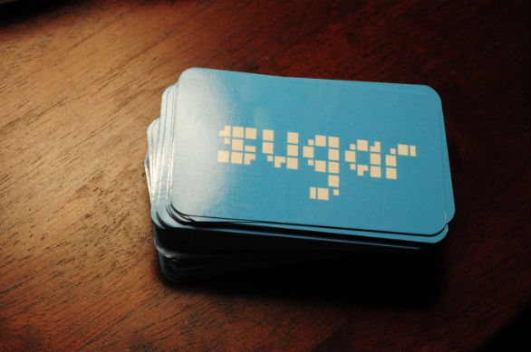 Custom Shaped Business Cards - Sugar