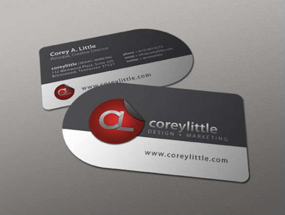 Custom shaped business cards 32 sexy samples uprinting custom shaped business cards corey little wajeb Gallery