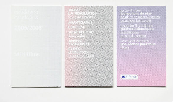 Event Brochure Design Examples - Musée du cinéma