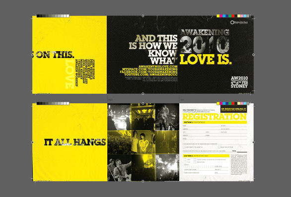 Event Brochure Design Examples - CCC AW10