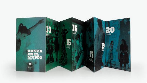 Event Brochure Design Examples - Danza en el Museo