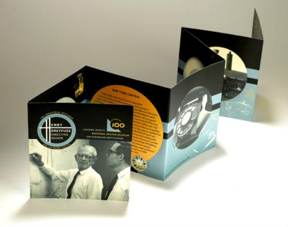 Event Brochure Design Examples - Henry Dreyfuss