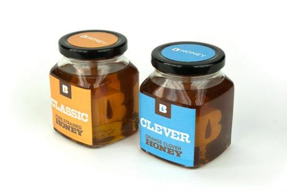Product Label Design - B Honey