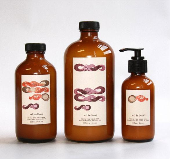 Product Label Design - Sel de Leau