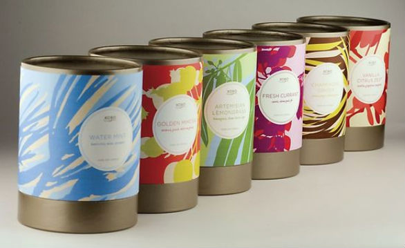 Product Label Design -  Koko Candles