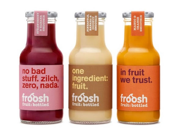 Product Label Design - Froosh