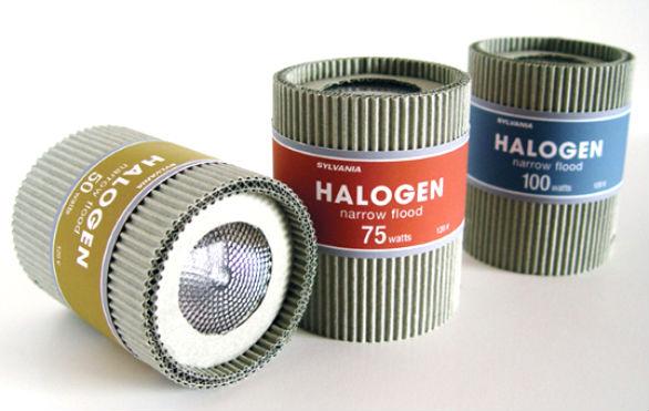 Product Label Design - Sylvania Halogen Bulbs