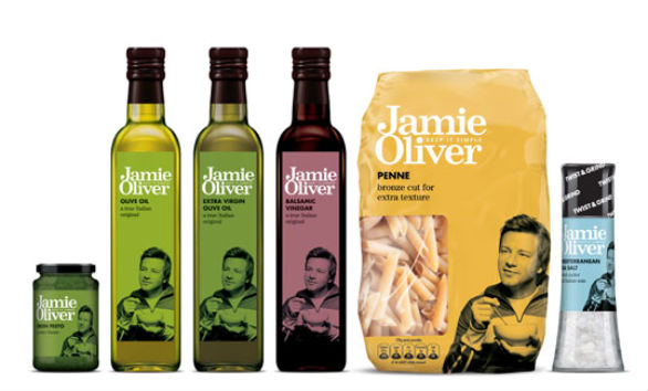Product Label Design - Jamie Oliver