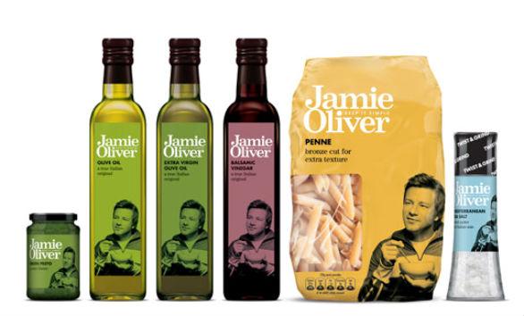 Product Label Design - Jamie Oliver