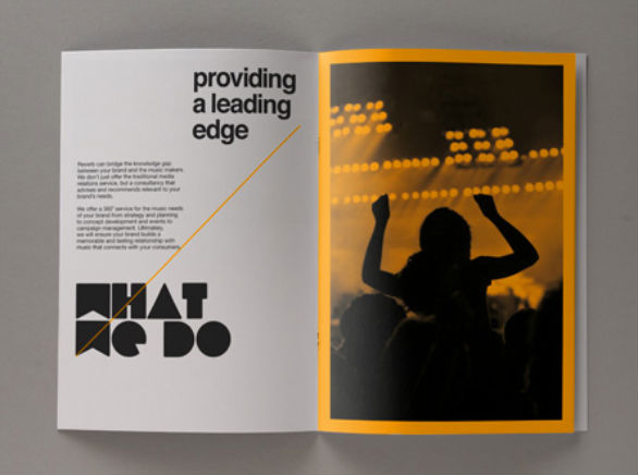 Promotional Booklet Designs - Reverb