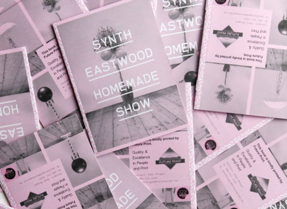 Promotional Booklet Designs - Synth