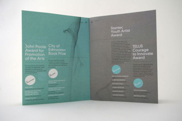 Promotional Booklet Designs - Celebration of the Arts
