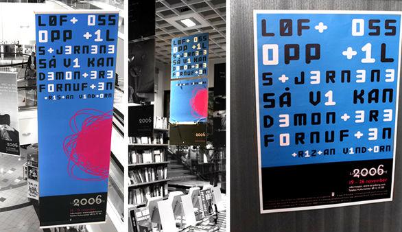 Vinyl Banner Design - Litterature Week