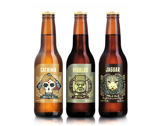 Beverage Label Printing -cerveceria hacienda