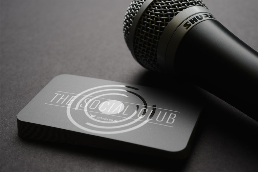 25 Stunning Black Business Cards For Print Design Inspiration