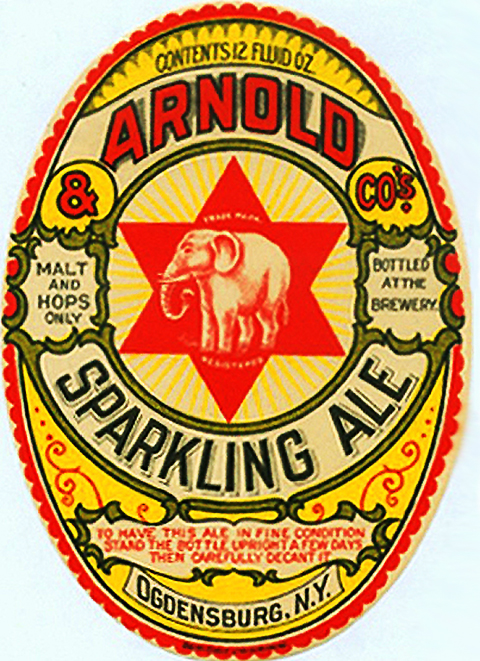 Beer Label Design - Arnold