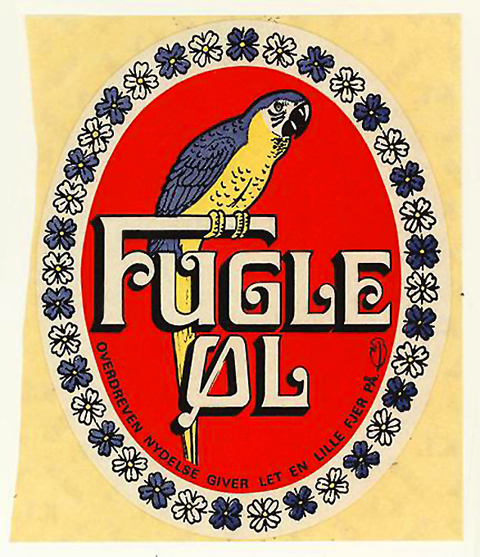 Beer Label Design - Fugle Ol