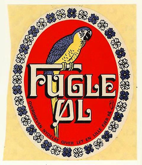 Beer Label Design - Fugle Ol