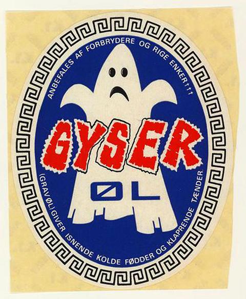 Beer Label Design - Gyser