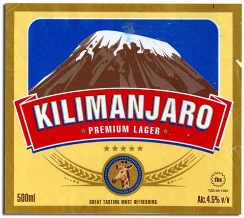 Beer Label Design - Kilimanjaro