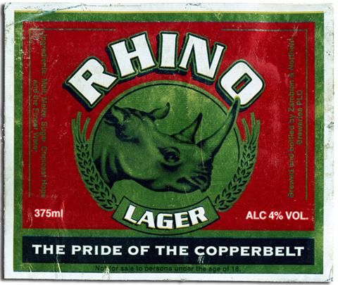Beer Label Design - Rhino