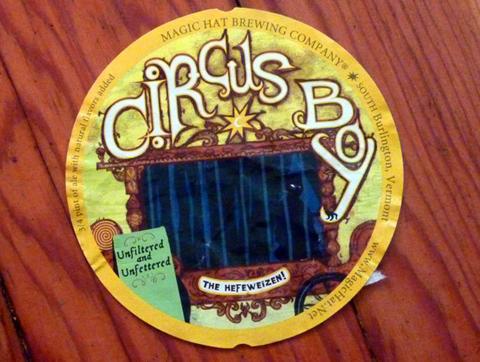Beer Label Design - Circus Boy