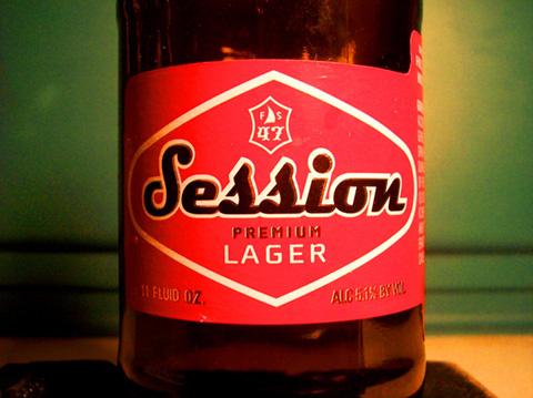 Beer Label Design - Session