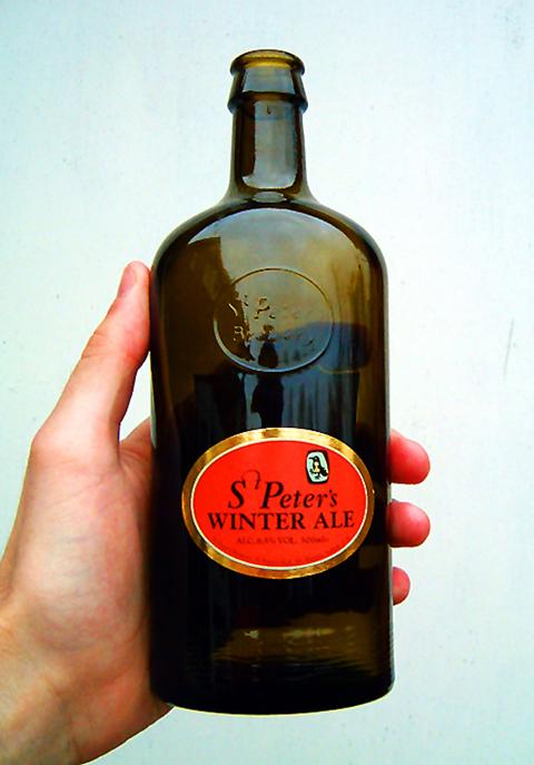 Beer Label Design - St. Peters Winter Ale