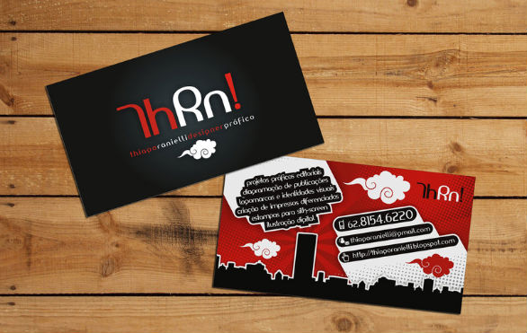 Black Business Cards - My Business Card