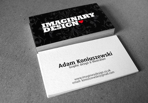 Black Business Cards - Imaginary Design