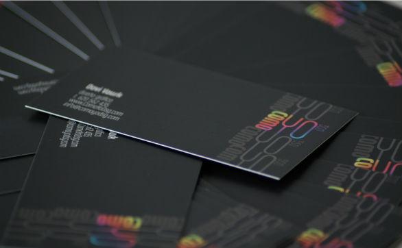 Black Business Cards - ComoYoDSG