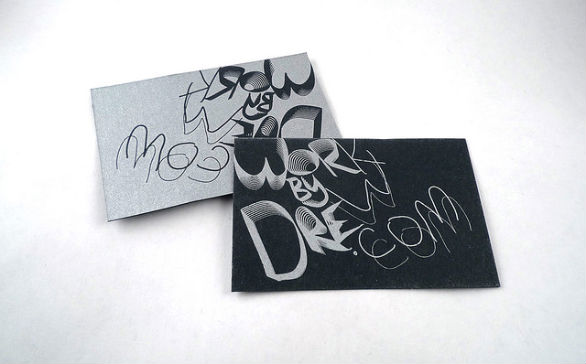 Black Business Cards - WorkByDrew