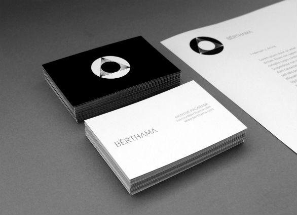 Black Business Cards - BËRTHAMA