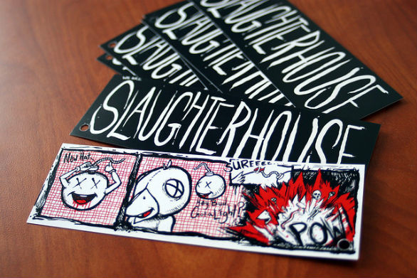Clothing Hang Tag Design - We are Slaughterhouse
