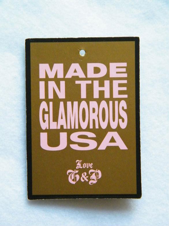 Clothing Hang Tag Design - Glamorous USA