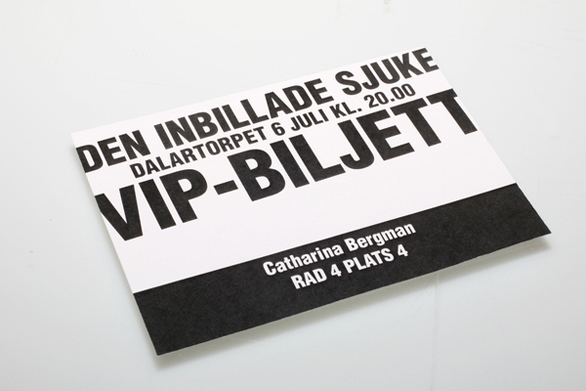 Custom Event Tickets - Molier A