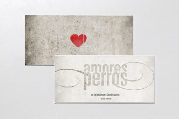 Custom Event Tickets - Amores Perros