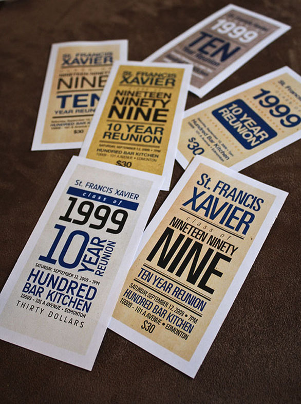 15 Custom Event Tickets to Feast Your Eyes On | UPrinting